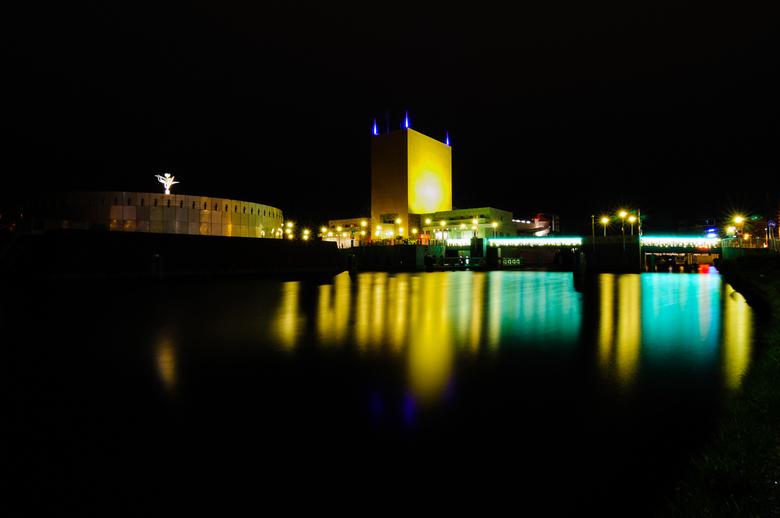 Groninger Museum @ night