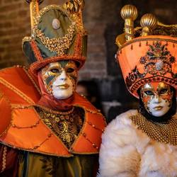 The carnaval couple