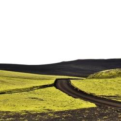 Lakagígar Laki kraters IJsland