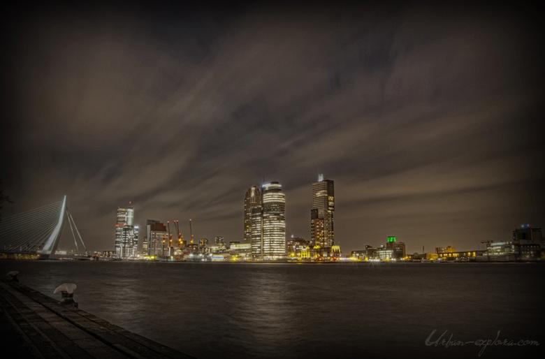 Skyline Rotterdam HDR