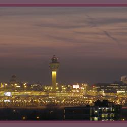 Vliegtuigen op Schiphol.