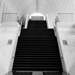 Station Luik zwart/wit
