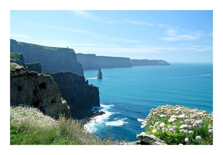 Kliffen van Moher  - Net terug uit een prachtig mooi Ierland. We hebben zo'n 2700 km. gereden van Dublin naar de noordwestkust en langs de kust n