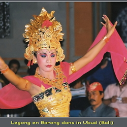 Traditionele dans op Bali