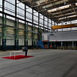 voormalige NS werkplaats Tilburg