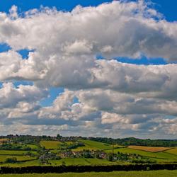 Uitzicht vanuit Tunley