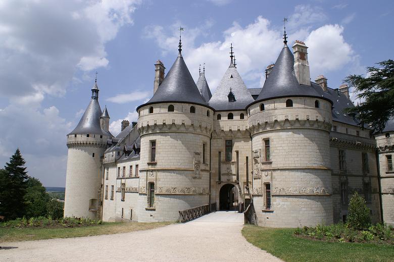 Château de Chaumont - Château de Chaumont aan de Loire in Frankrijk.