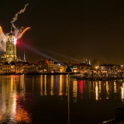 Deventer tijdens opening feestjaar ter ere van het 1250 jarig bestaan