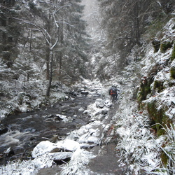 Winter in België