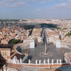 Uitzicht over Rome