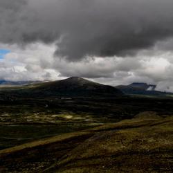 Wolken boven Dovrefjell