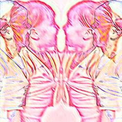 spiegelbeeld…4 zieltjes 1 gedachte