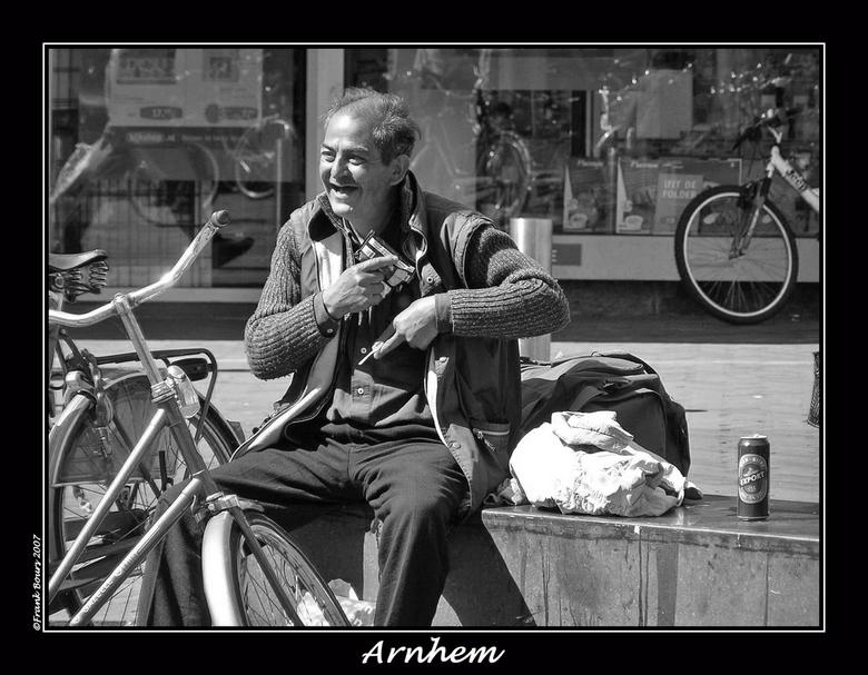 Arnhem 2 - Gezien in Arnhem eerder dit jaar.<br /> foto:Frank