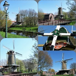 FotoJet Collage Loosduinen MOLEN  Korenaer 1721
