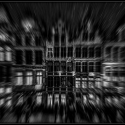 Drieluik Brussel ...Grote Markt...