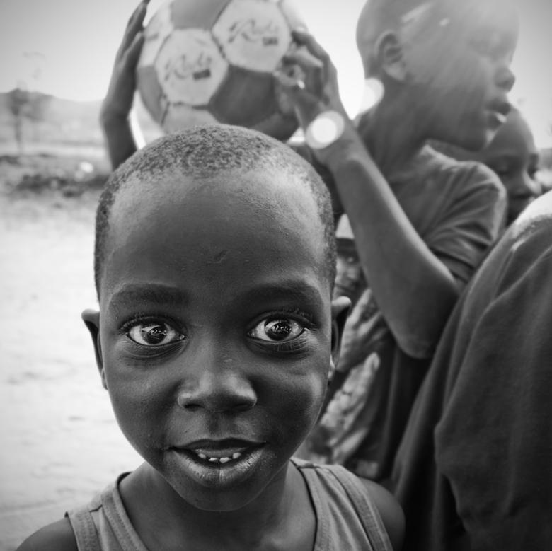 African Boy - Afrikaanse jongen uit Soweto