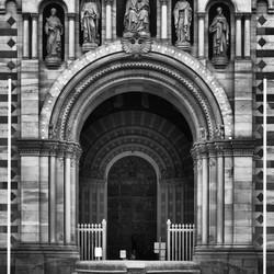 Ingang van de Dom van Speyer.