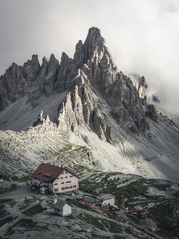 Rifugio Locatelli.