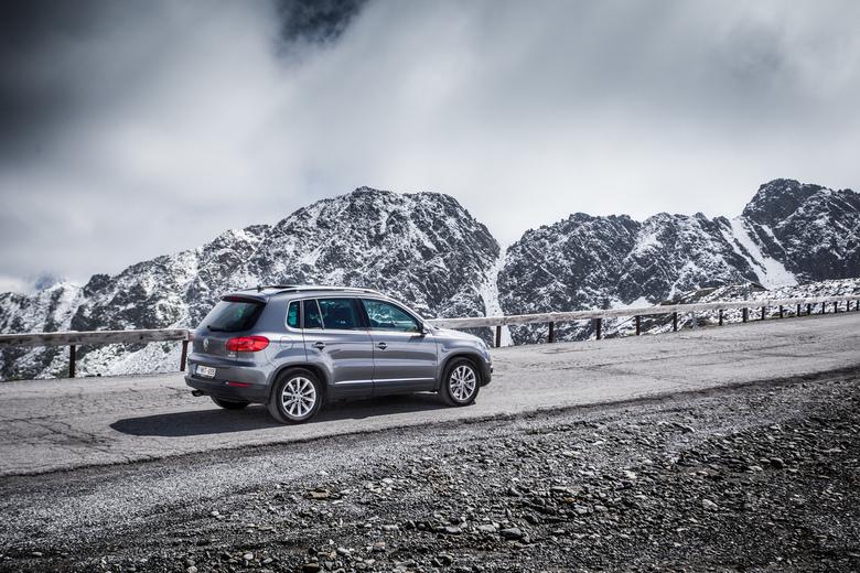 Volkswagen in de bergen