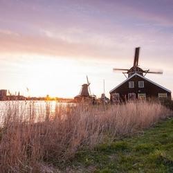 Sunset @ Zaanse Schans 2