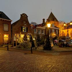 Delden - Markt met Oude Blasiuskerk