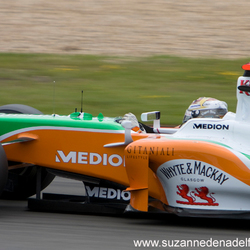 Sutil @ Nurburgring'09