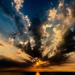 Sunset Dutch Beach
