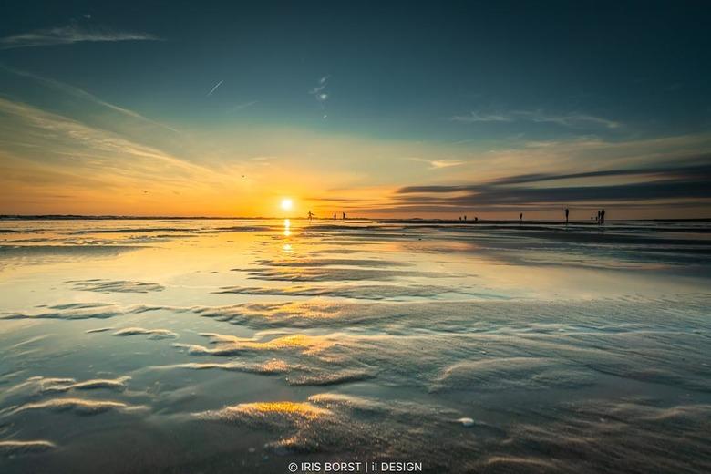 20200729-Texel-paal9 - Zonsondergang op Texel, nooit saai, altijd iets moois te vinden. Deze is genomen met laag water bij Paal 9.