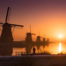 Kinderdijk Sunrise