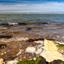 Noordzee met boeien
