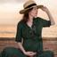 Zwangerschap Fotoshoot met Zonsondergang