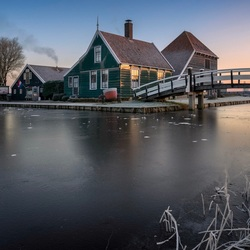 Winter wonderland bij de Schans