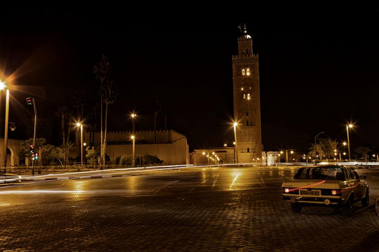 Silent Night - Foto is genomen in Marrakech.
