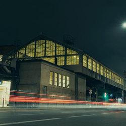 Winternacht in Berlijn