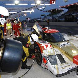 24 hrs Le Mans pitstop