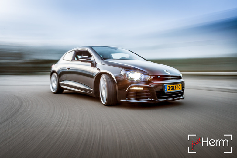The VW Scirocco R -