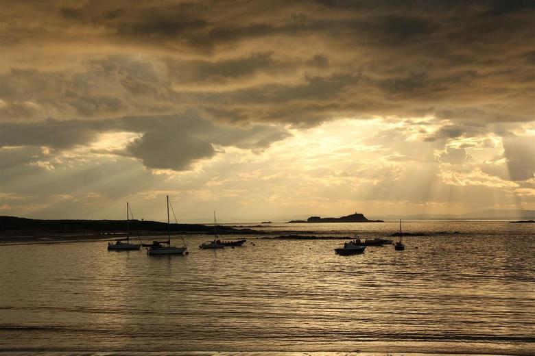 Golden Sky  - Golden Sky, North Berwick Bay