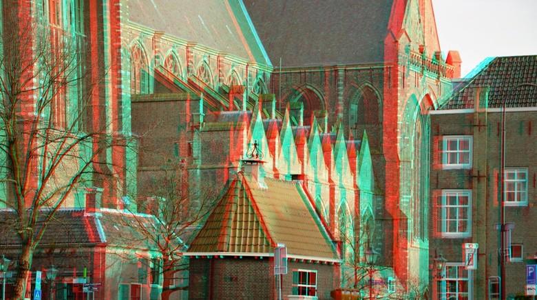 Dordrecht 3D - Dordrecht  anaglyph stereo
