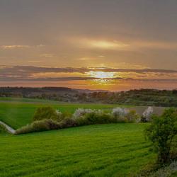Een zomers panorama