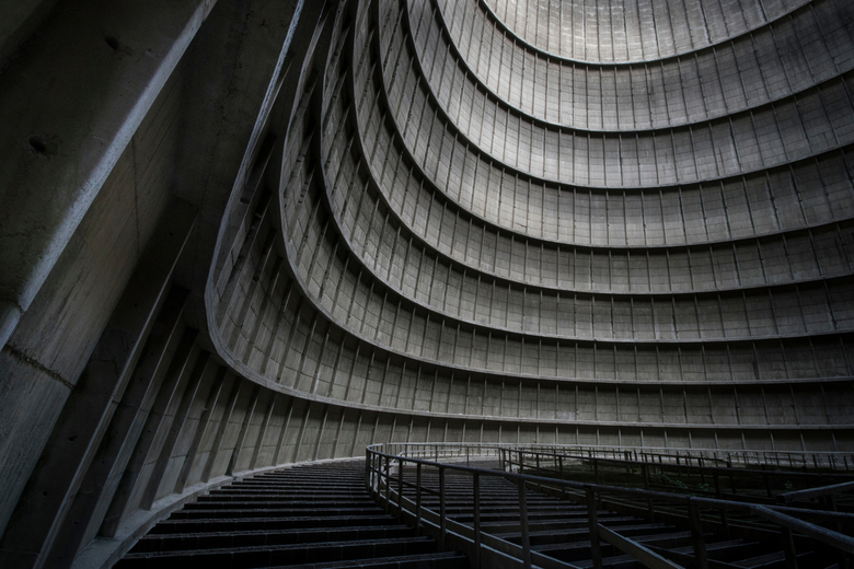 Inside the Cooling Tower -