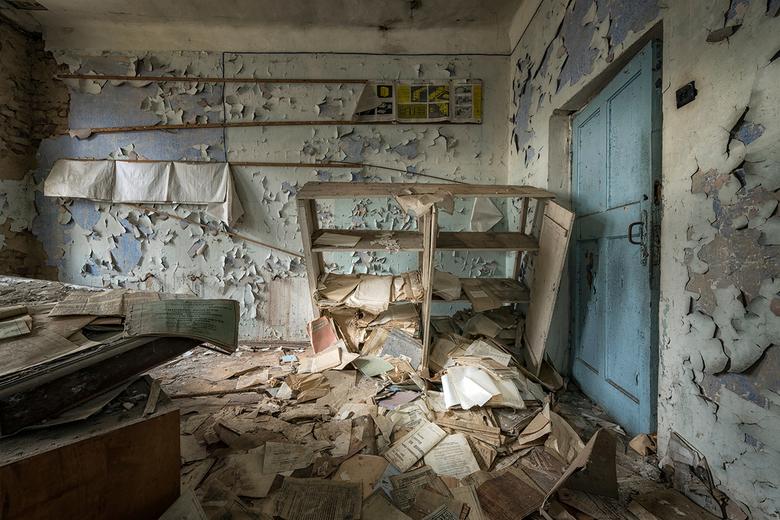 Chernobyl builders settlement -