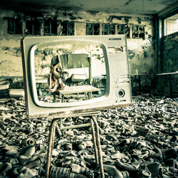 Gasmaskerkamer Chernobyl