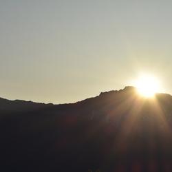 Sunrise in Jasper, Canada