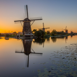 Kinderdijk Sunset