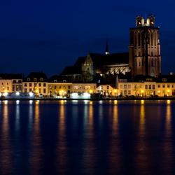 Grote Kerk Dordrecht by Night