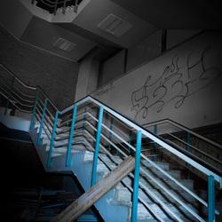 Blue Stairs - J.Z.