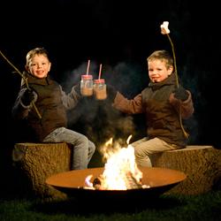 Warm aan het vuur