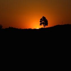 Arikaanse zonsondergang