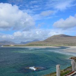 view on Luskentyre Beach