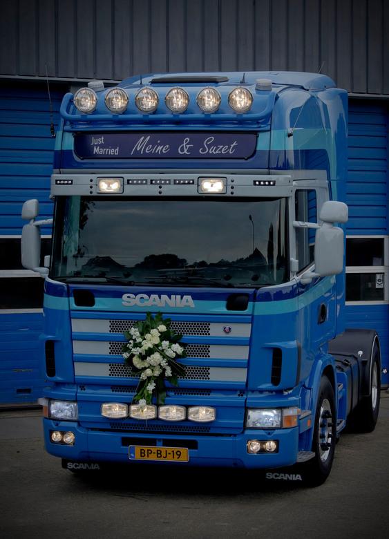 Trouwen in een truck